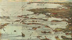 Boston Ferry Map by Boston Harbor History And Cartograph 1899 Youtube