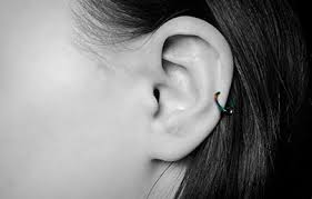 auricle rings cartilage hoop earrings piercing jewellery uk