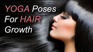 home remedies for hair loss for over 50 6 yoga poses for hair growth youtube