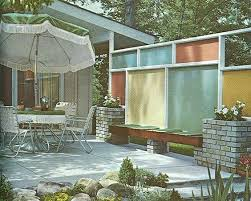 from a mid century landscaping book mid century home exteriors