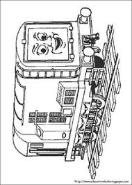 molly and neville the tank train coloring pages