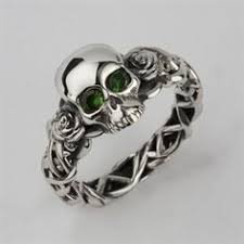 skull wedding ring sets imagesjewelers customjewelry enchanting skull wedding rings