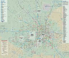 Downtown Houston Map Houston Transport Map U2022 Mapsof Net
