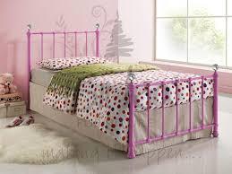 birlea jessica 3ft single pink metal bed frame 104 beds direct