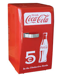 Coca Cola Six Flags Promotion Retro Fridge 18 Can Capacity Hudson U0027s Bay