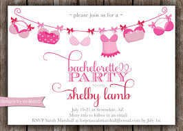 despedida invitation lingerie bachelorette invitation digital file pdf