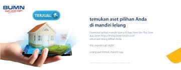 Bank Mandiri Pt Bank Mandiri Persero Tbk Lelang Agunan Bank Mandiri