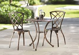 Outdoor Bistro Chairs Charlton Home Hearst 3 Piece Bistro Set U0026 Reviews Wayfair