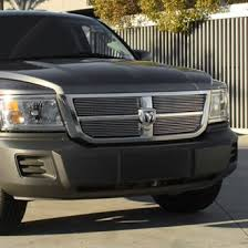 dodge dakota black grill 2011 dodge dakota custom grilles billet mesh led chrome black