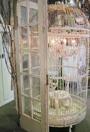 Birdcage Chandelier Shabby Chic 1014 Best Birdcages And Bird Houses Images On Pinterest