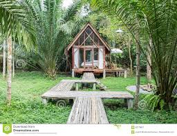 Classic Cottage Classic Style Wooden House In The Cottage With The Wooden Path In