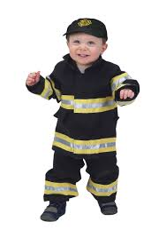 fireman costume toddler black firefighter costume