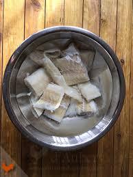 comment dessaler un plat cuisiné comment déssaler de la morue séchée