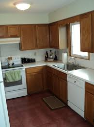 paint kitchen what color to paint kitchen cabinets with almond appliances home