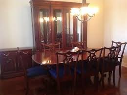 Dining Room Chairs Cherry Cherry Wood Heirloom Pennsylvania House Dining Room Set W Lighted