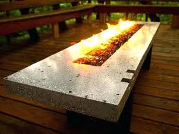 Diy Gas Firepit Gas Table Gas Table Modern Pit Table Gas Table