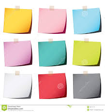 color paper color paper note stock photography image 32171772