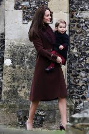 St Mark S Church Berkshire Prince George And Princess Charlotte Join Their Parents For Church