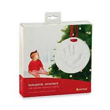 pearhead babyprints ornament by pearhead buybuy baby