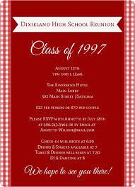 college invitations class reunion invitations high school college class reunion