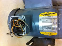 baldor motor capacitor wiring diagram to three phase and single
