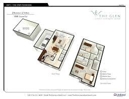 2 bedroom studio apartment floor plans rivercrest luxury the glen 3 d floor plan for 2 bedroom apartments f units2 studio apartment plans luxury