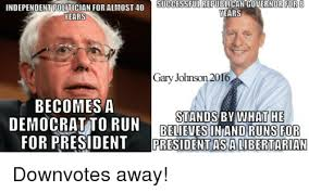 Gary Johnson Memes - successful republican governor for8 independent politician for