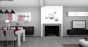 Meuble Salon Noir Et Blanc by Indogate Com Deco Cuisine Salle A Manger