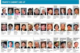 How Many Cabinet Positions Are There Cabinet Revamp Gets Mixed Views Bangkok Post News