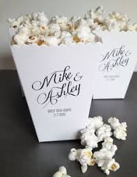 popcorn sayings for wedding these popcorn favor bags by the from grand rapids popcorn