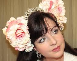floral headdress floral headdress etsy