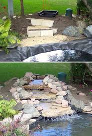 Building A Fish Pond In Your Backyard by Diy Garden Waterfalls Diy Waterfall Garden Waterfall And Passion