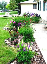 pictures simple flower bed ideas free home designs photos