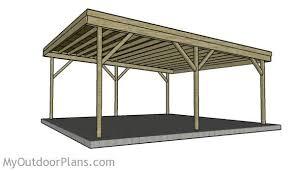 carport building plans 2 car carport plans myoutdoorplans free woodworking plans and