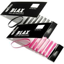blax hair elastics blax snag free hair elastics eleven se