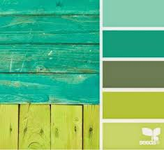what color matches green house of smichi color therapy lime green orchid color palette
