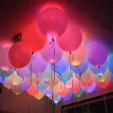 100pcs lot colorful led lamps balloon lights for paper lantern