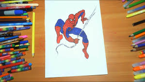 spiderman new coloring pages for kids colors superheroes coloring