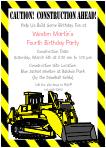 train invitations motorcycle invitations monster truck invitation