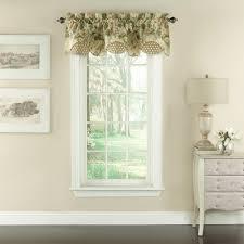 garden glory scalloped floral window valance 60 u0027 u0027 x 16 u0027 u0027