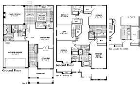 Tamarack Floor Plans | plan of the bradbury