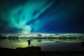 iceland springs and northern lights northern lights at lake kleifarvatn iceland ring road pinterest