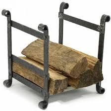 fireplace wood holder kitchen dining enclume sling fireplace log