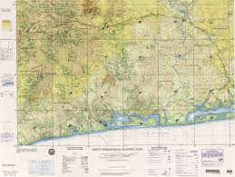 Ivory Coast Map West Africa Joint Operations Graphic Perry Castañeda Map