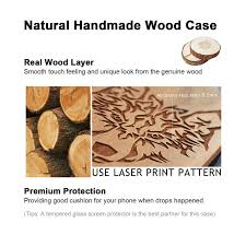 The 25 Best Anchor Print - natural real wooden phone case wholesale wooden cases dozcell