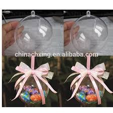 wholesale clear plastic ornaments for decoration