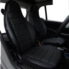 siege smart roadster yuzhe housse de siège de voiture en cuir pour mercedes smart