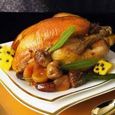 cuisiner la poularde recette poularde au miel d épices et ses fruits d hiver cuisine
