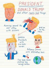 president trump funny birthday card political humor hilarious