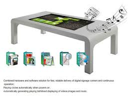 Touch Screen Coffee Table by Points Infrared All In One Computers Touch Screen Table With I3
